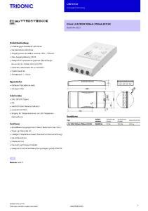 LED-Driver Kompakt Dimming