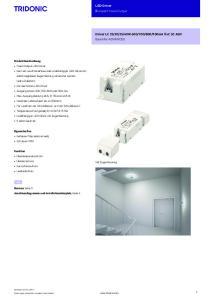 LED-Driver Kompakt Fixed-Output