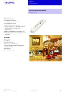 LED-Driver Konstantspannung