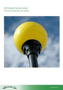 LED General Service Lamps