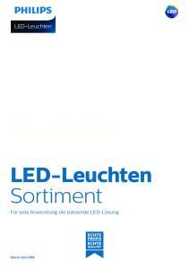 LED-Leuchten Sortiment