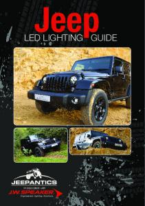 LED LIGHTING GUIDE. in assocation with