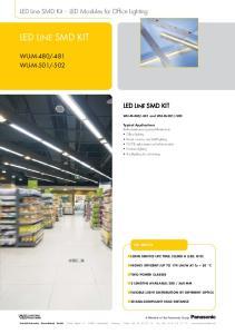LED Line SMD Kit LED Modules for Office Lighting LED LINE SMD KIT