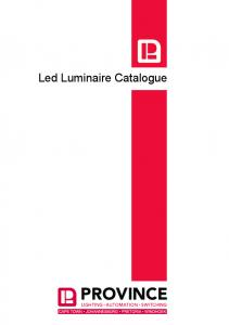 Led Luminaire Catalogue