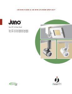 LED MINI-FLOOD & LED MINI-CYLINDER SPOTLIGHT. Trac 12 LED Mini-Flood. Trac 12 LED Mini-Cylinder Spotlight Flex 12 LED Mini-Cylinder Spotlight