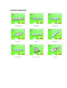 LED MODULE SMD SERIES