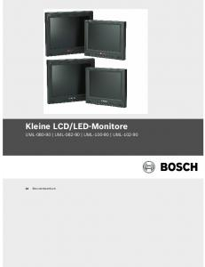 LED-Monitore UML UML UML UML Benutzerhandbuch