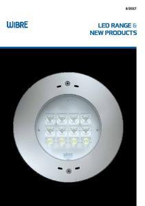 LED RANGE & NEW PRODUCTS