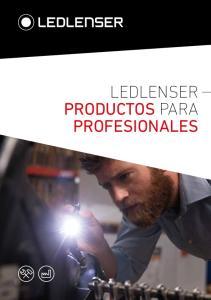 LEDLENSER PRODUCTOS PARA PROFESIONALES