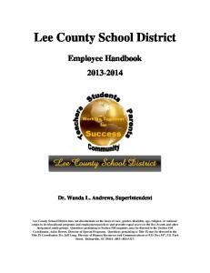 Lee County School District