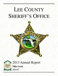 LEE COUNTY SHERIFF S OFFICE