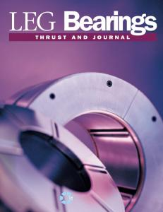 LEG Bearings THRUST AND JOURNAL
