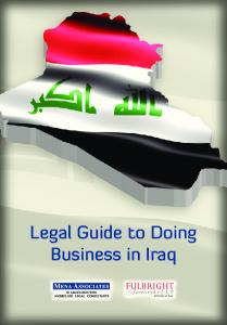 Legal Guide to Doing Business in Iraq