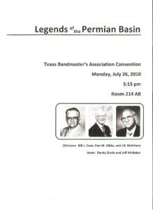 Legends of the Permian