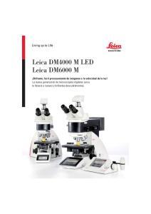 Leica DM4000 M LED Leica DM6000 M