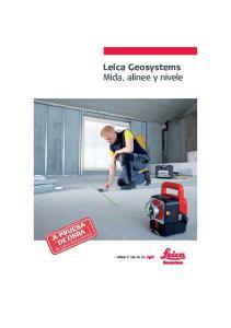 Leica Geosystems Mida, alinee y nivele
