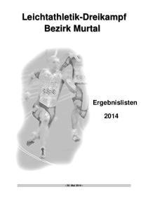 Leichtathletik-Dreikampf Bezirk Murtal
