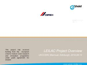 LEILAC Project Overview