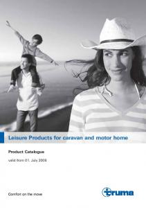 Leisure Products for caravan and motor home