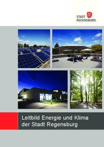 Leitbild Energie und Klima der Stadt Regensburg