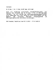 Leitsatz. 10 Abs. 1 Nr. 2 ZVG, 867 BGB, 54 GBO