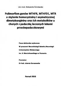 Lek. med. Aleksandra Śnieżawska