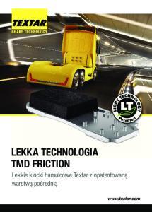 LEKKA TECHNOLOGIA TMD FRICTION