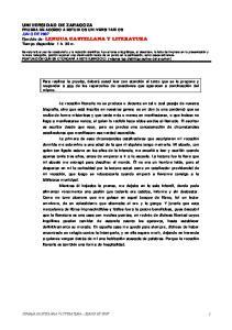 LENGUA CASTELLANA Y LITERATURA - JUNIO DE