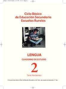LENGUA CUADERNO DE ESTUDIO