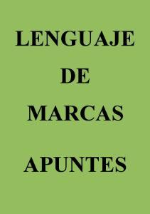 LENGUAJE DE MARCAS APUNTES