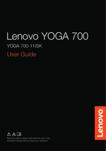 Lenovo YOGA 700 YOGA ISK