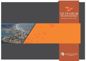 LES DUNES III REAL ESTATE DEVELOPMENT RINCON DEL INDIO - PUNTA DEL ESTE - URUGUAY