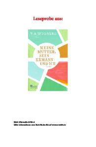 Leseprobe aus: ISBN: Mehr Informationen zum Buch finden Sie auf