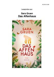 Leseprobe aus: Sara Gruen Das Affenhaus