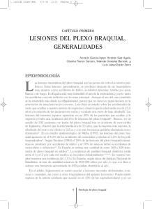 LESIONES DEL PLEXO BRAQUIAL. GENERALIDADES