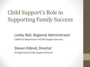 Lesley Bell, Regional Administrator