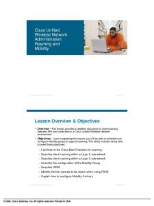 Lesson Overview & Objectives