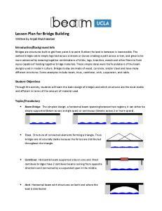 Lesson Plan for Bridge Building