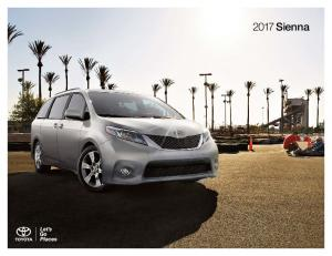 Let everyone in on the fun. The 2017 Toyota Sienna
