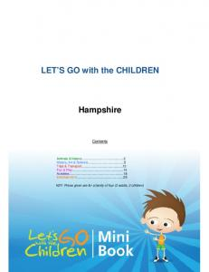 LET S GO with the CHILDREN. Hampshire