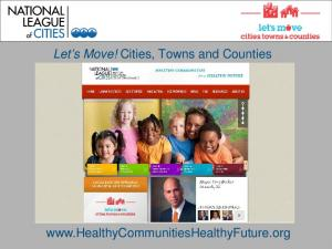 Let s Move! Cities, Towns and Counties