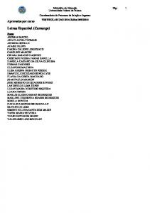 Letras Espanhol (Camargo)