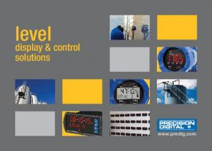 level display & control solutions
