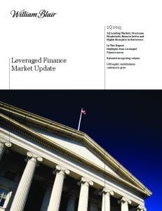 Leveraged Finance Market Update
