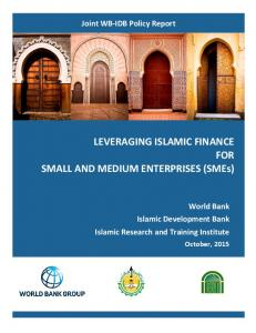 LEVERAGING ISLAMIC FINANCE FOR SMALL AND MEDIUM ENTERPRISES (SMEs)