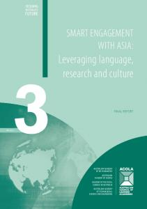 Leveraging language, research and culture