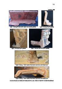 LEVHA 100. Figür 1. Katalog 63 deki keklikli eğimli sima arkadan görünüş. Figür 2. Katalog 63 profil görünüş. Figür 3. Katalog 63 profil görünüş