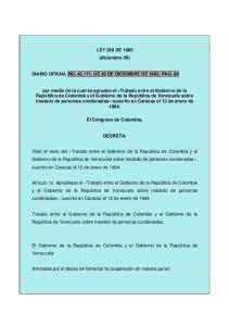 LEY 250 DE 1995 (diciembre 29) DIARIO OFICIAL NO , DE 29 DE DICIEMBRE DE PAG. 29