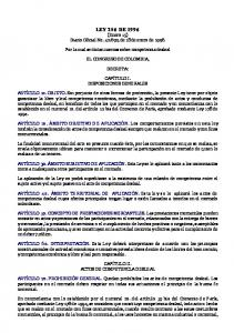 LEY 256 DE 1996 (Enero 15) Diario Oficial No , de 18 de enero de 1996