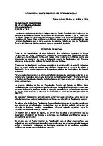 LEY DE FISCALIZACION SUPERIOR DEL ESTADO DE MEXICO